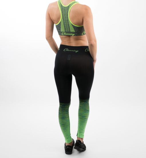 Go Young Beauty - 520 Green Fitness Outfit Back