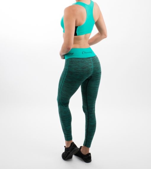 Go Young Beauty - 520 Turquoise Fitness Outfit Back